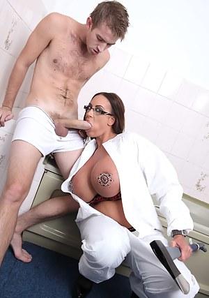 Big Tits Uniform Porn Pictures
